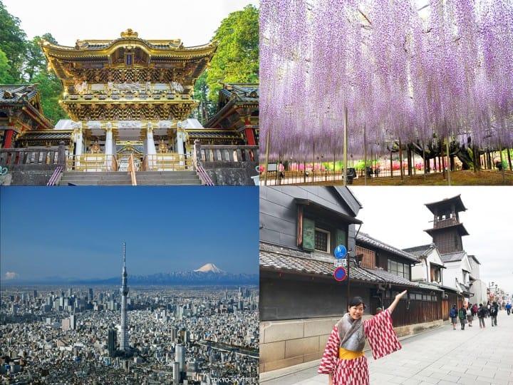 3天無限乘車!實惠車票助您踏上東京·日光·川越豪華之旅