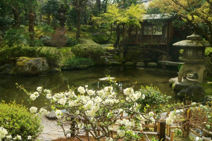 Kyoto Heian Hotel's Japanese Garden - Top Ranked By A US Magazine!