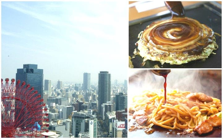 Okonomiyaki Tsuruhashi Fugetsu - Osaka Comfort Food With A Great View!
