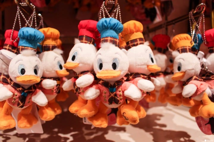 東京迪士尼樂園3隻小鴨