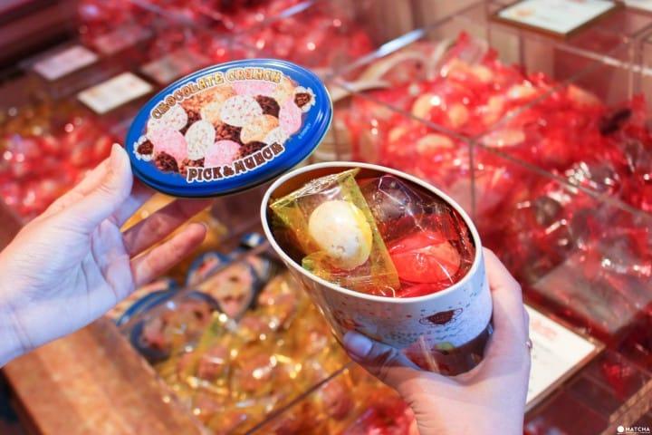 東京迪士尼樂園35週年限定店鋪 chocolate crunch
