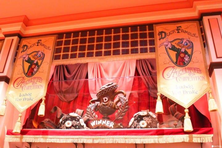東京迪士尼樂園35週年限定店鋪 店內巧克力