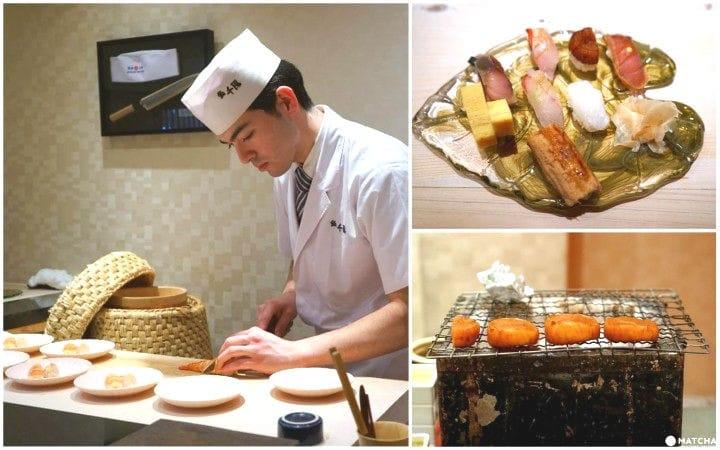 ミシュラン掲載、大阪で味わう本格江戸前寿司「鮨 千陽」