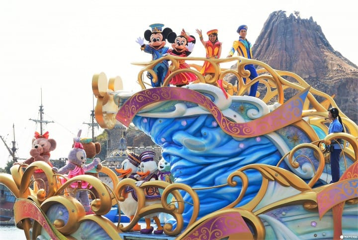 35th Happiest Celebration! See The Water Show At Tokyo DisneySea!