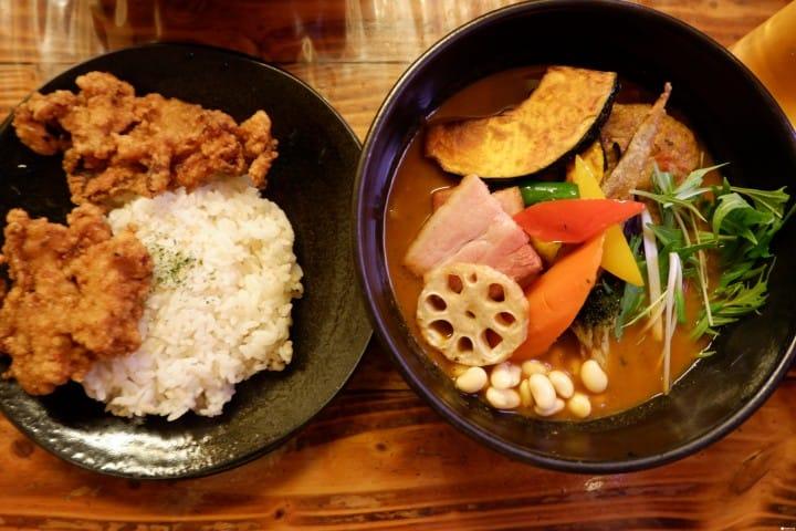 Rojiura Curry SAMURAI ซุปคาเร่ร้านอร่อยของซัปโปโร (Sapporo, Hokkaido)