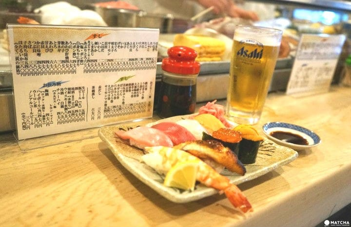 Kame Sushi In Osaka - Enjoy High-Quality Sushi And Chat With The Locals