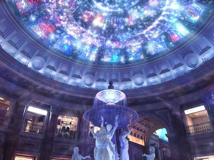 聖誕燈飾 台場維納斯城堡 VenusFort