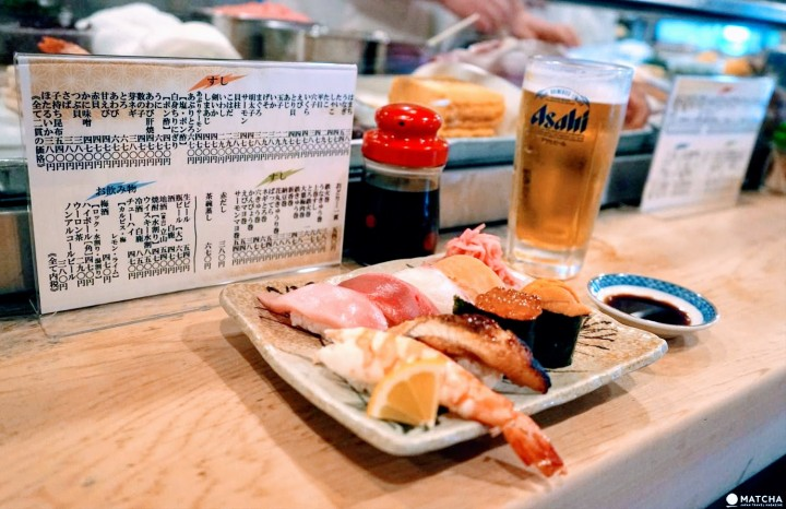 ลิ้มลองซูชิสดใหม่พร้อมพบปะผู้คนท้องถิ่นที่ คาเมะซูชิ (Kame Sushi) ในโอซาก้า (Osaka)