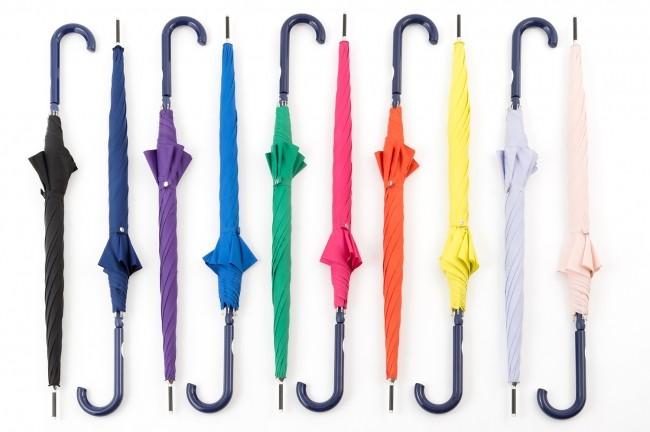 梅雨季夏天必備!抗UV防潑水雨傘