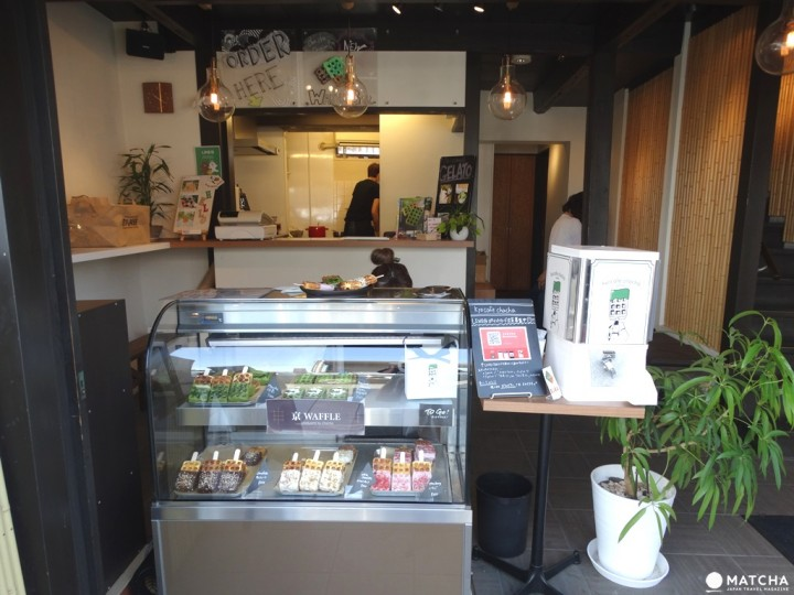 訪京都必吃新甜點 冰棒鬆餅小巧不沾手