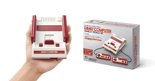 任天堂红白机经典回归,内建30款游戏让你忆儿时
