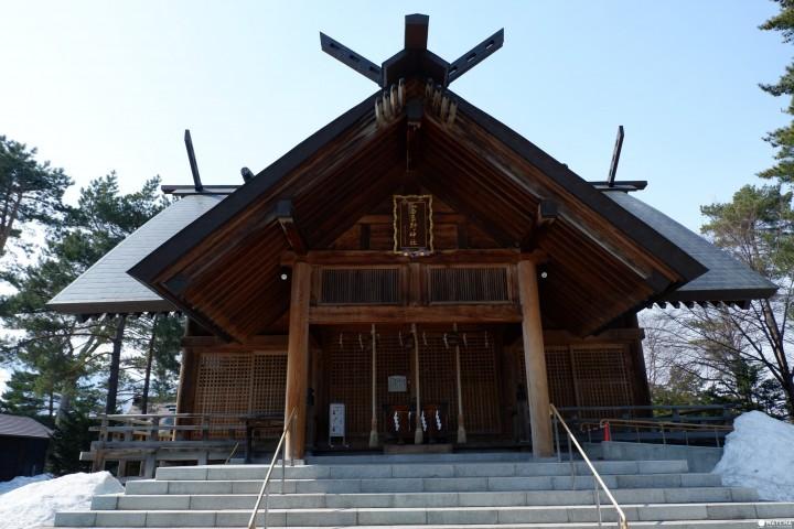 准备好你的御朱印 富良野神社参拜Follow me!