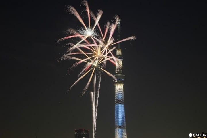Hanabi Fireworks in Japan