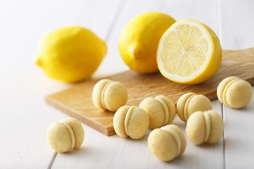 酸甜檸檬炭酸夾心餅