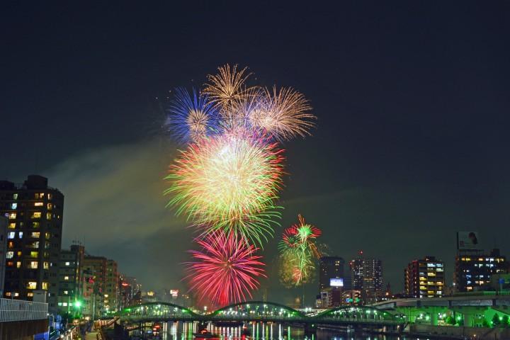 隅田川煙火