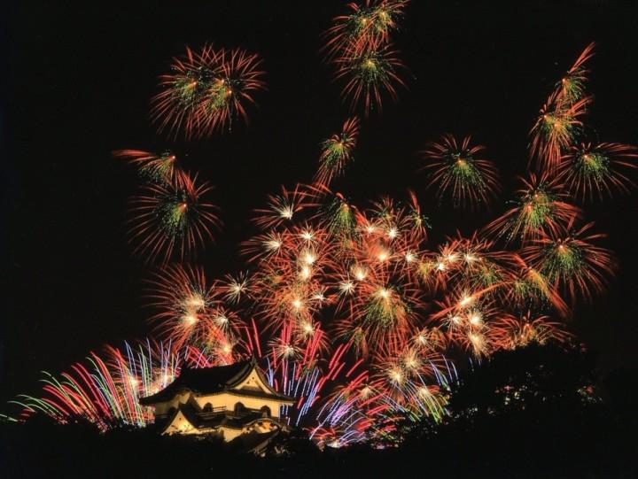 Japanese firework festivals
