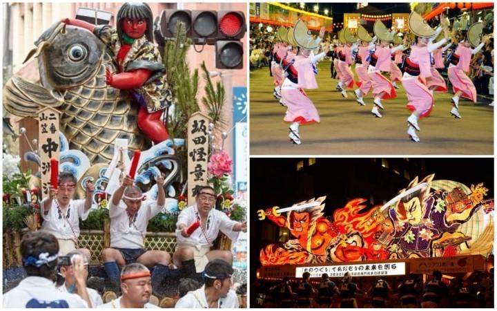 12 Festivales Japoneses que Debes Ver Durante el Año
