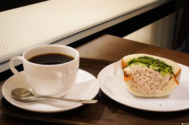 上島咖啡店 東京站早餐三明治