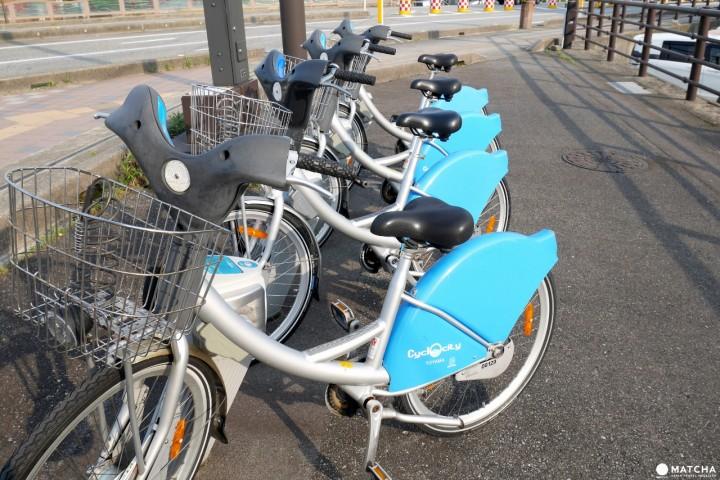 富山也有YouBike!利用Cyclocity骑单车逛遍富山市中心