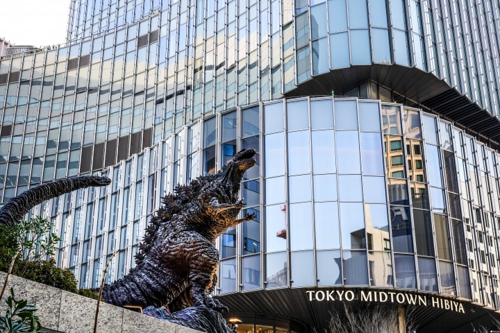 Godzilla Invaded Tokyo! Find The Giant Monster In Shinjuku