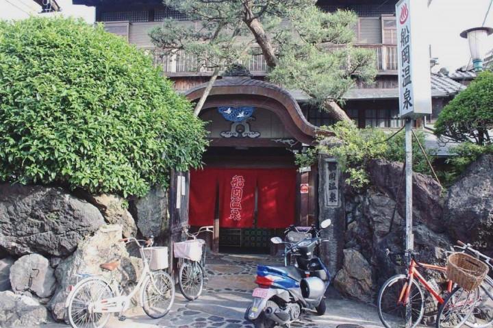『京都 船冈温泉』到传统澡堂泡进京都日常