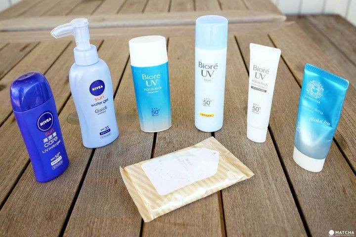 5 Types Of Japanese Sunscreen - Comparison And Recommended Items