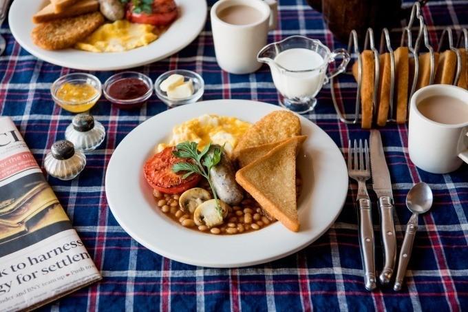 吃早餐啰!『横滨红砖仓库』世界早餐市集