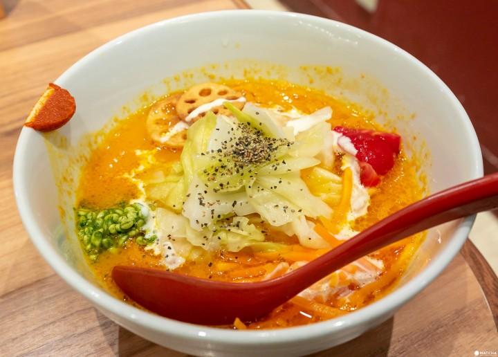 東京車站早餐素食拉麵