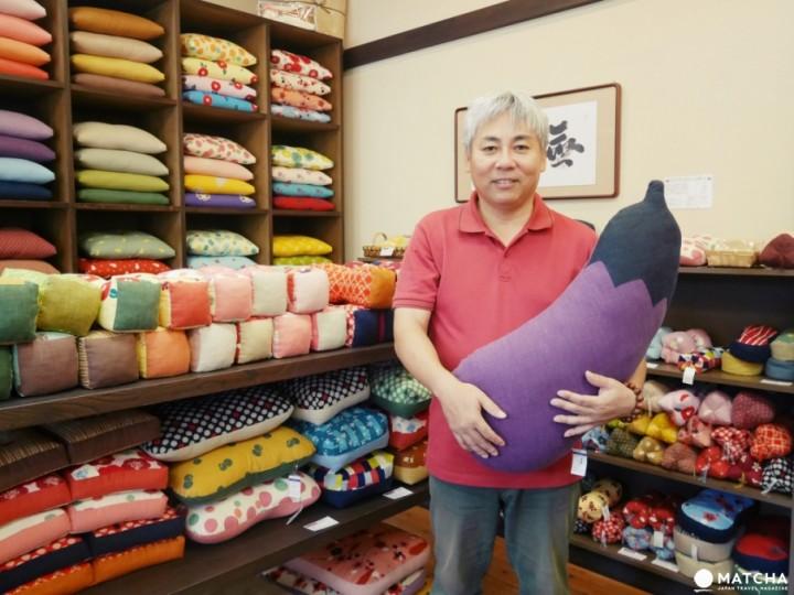 【京都】嵐山の手作り座布団専門店!100年の歴史を誇る「プラッツ」
