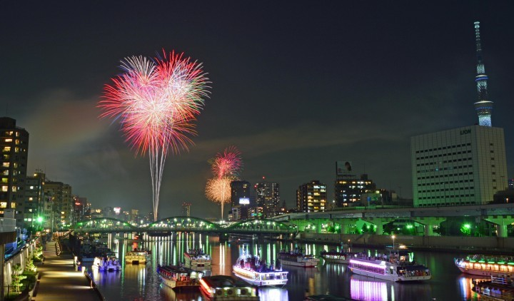 Sumida River Fireworks Festival - 2018 Schedule, Access And Highlights