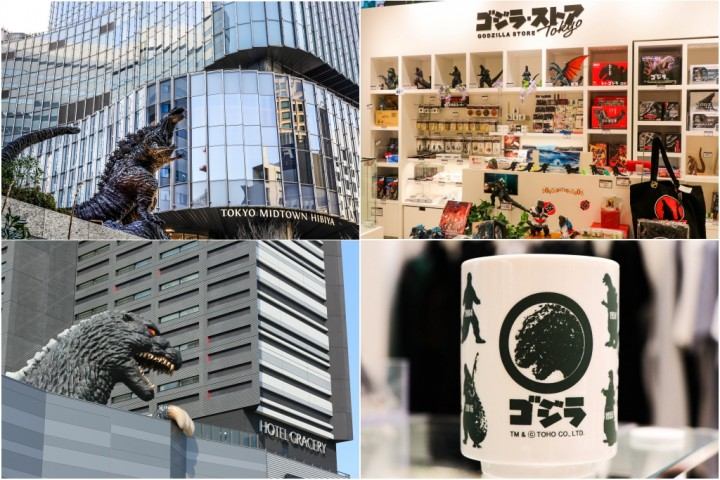 Godzilla Invaded Tokyo! Find The Giant Monster In Shinjuku And Ginza