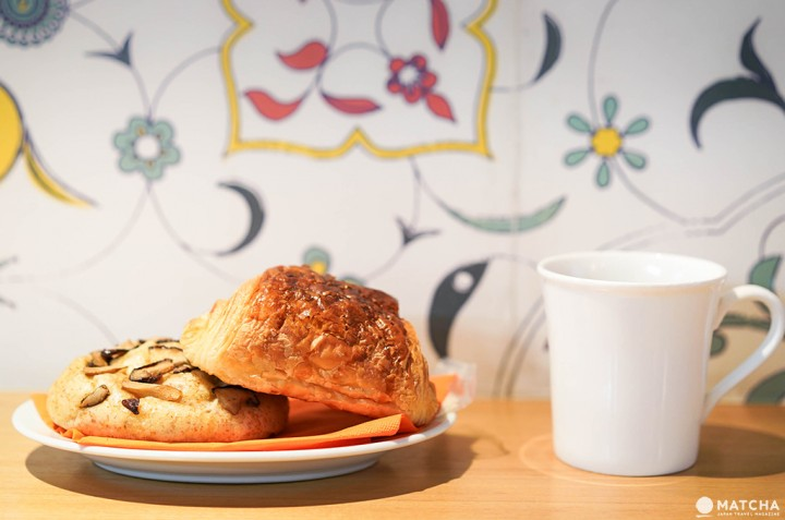 八丁堀Cawaii Bread & Coffee餐點