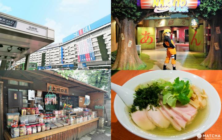 Top 7 địa điểm tham quan ở Ikebukuro -  Ramen, Anime Shop, Theme Park...