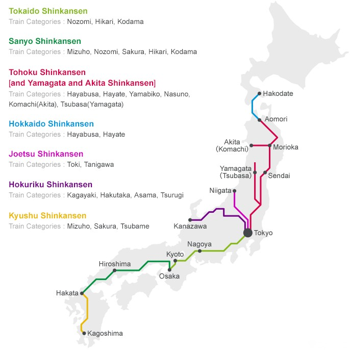 Shinkansen - How To Buy Bullet Train Tickets | MATCHA - JAPAN TRAVEL on osaka train map, shinjuku train map, chiba train map, tokushima train map, la train map, osaka subway map, glasgow train map, zurich airport train map, cape town train map, saitama train map, train station map, kanagawa train map, nara train map, new jersey transit train map, beijing train map, hokkaido train map, sasebo train map, london train map, sendai train map, tokyo train map,