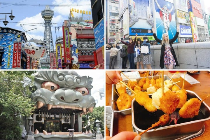 Explore Osaka's Lively Downtown! Top  10 Spots To Visit In Namba