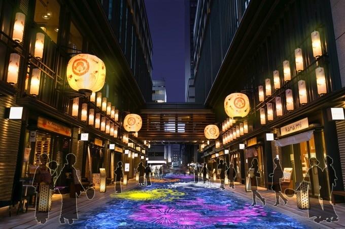 日本桥出现大量金鱼!夏季一定要体验的江户风情