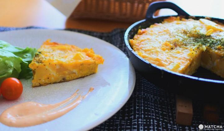 西班牙蛋餅 早餐