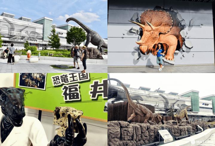恐龍迷必朝聖!與恐龍拍照打卡熱點「JR福井站」