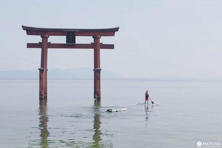 『滋賀』琵琶湖的水上鳥居:白鬚神社一日遊
