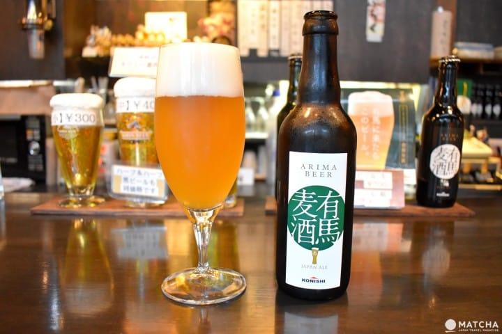 ร่ำสุราในอาริมะออนเซ็นที่ Sake Ichiba ร้านยืนดื่มพร้อมเบียร์-เหล้าญี่ปุ่นให้เลือกเพียบ (Arima Onsen)
