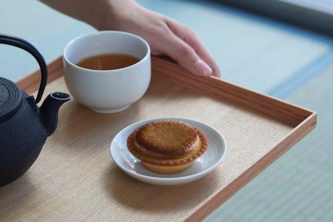 BAKE加賀棒茶焙茶起司塔