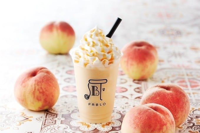 Pablo冰沙「Peachy Peach」蜜桃果肉冰沙
