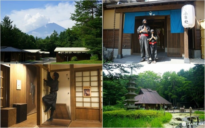 Oshino Shinobi No Sato - Family-Friendly Ninja Fun Near Mt. Fuji!