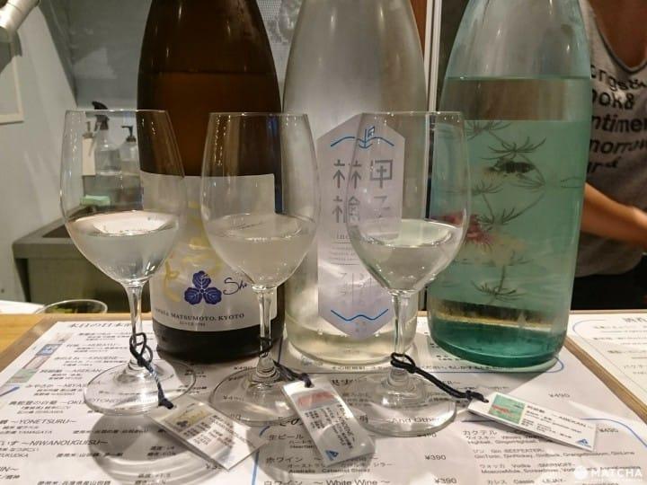 【澀谷】用紅酒杯乾杯的日本酒!個性清酒立飲酒吧