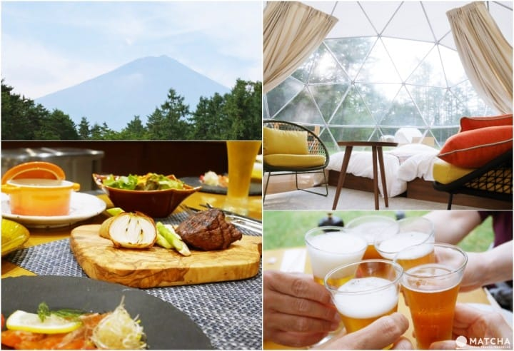Mt. Fuji Right Before Your Eyes! Enjoy Glamping At PICA Fujiyama