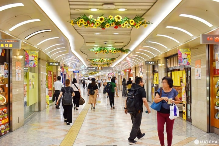 six namba stations how to navigate osaka s namba area matcha