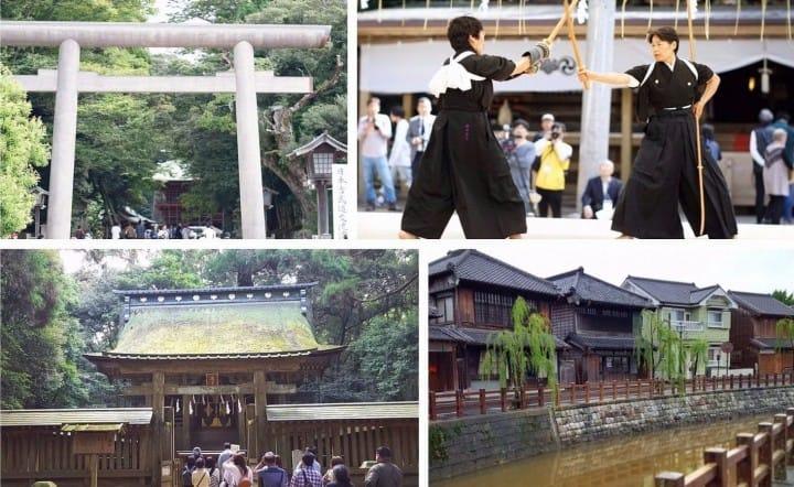 See A Martial Arts Festival! A Day Trip To Kashima Jingu And Sawara