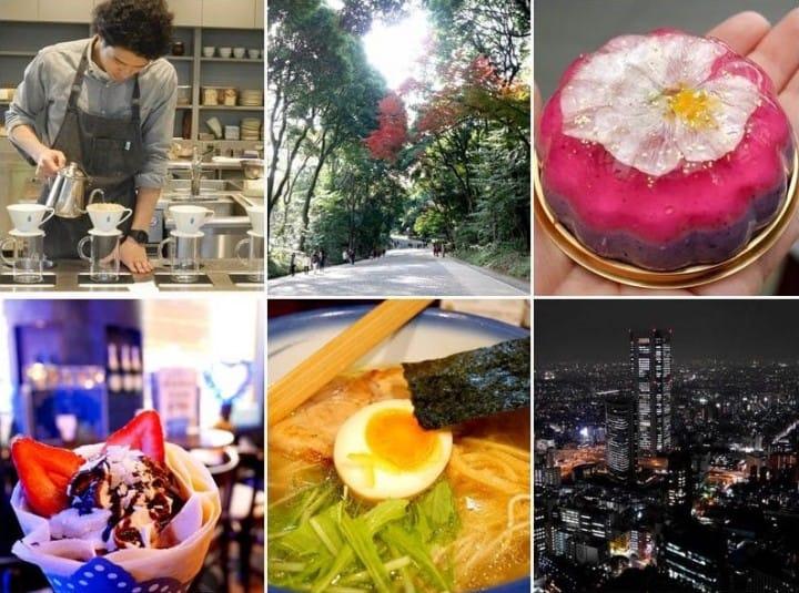 6000日圓有找!一日走闖多處景點,體驗東京的千變萬化