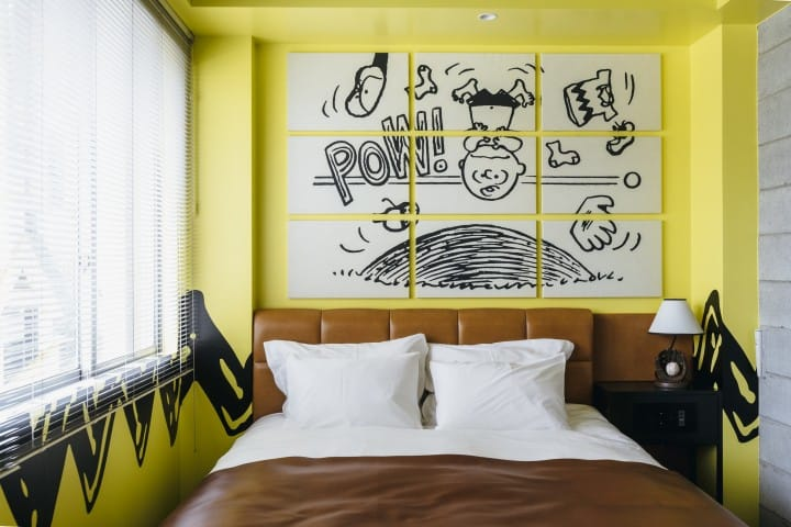 The PEANUTS HOTEL Kobe - Enter The World Of Snoopy And Friends