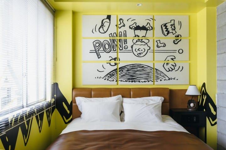 Pertama di Jepang! Masuk ke Dunia Snoopy di Peanuts Hotel